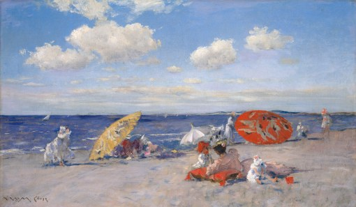 33. At the Seaside. Oil on canvas. ca. 1892. Metropolitan Museum of Art, New York.