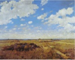 30. Flying Clouds. Oil on canvas. 1892. Private collection.