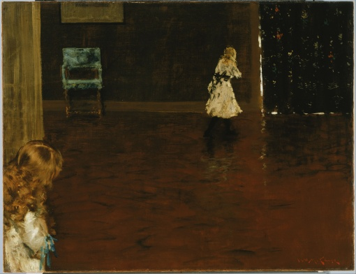41. Hide and Seek. Oil on canvas. 1888. Phillips Collection, Washington, D.C.