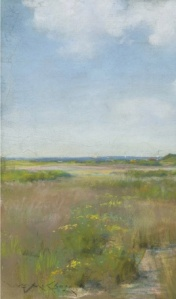31. Untitled (Shinnecock Landscape). Oil on canvas. ca. 1895. Private collection.