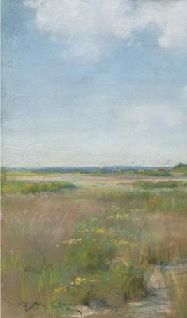 31. Untitled (Shinnecock Landscape). Oil on canvas. ca. 1895. Private collection.