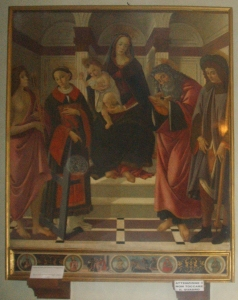School of Botticelli, Altar Piece, Montelupo