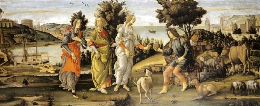 Botticelli, Judgment of Paris