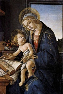 Botticelli, Madonna of the Book