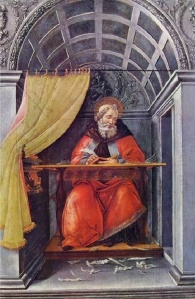 Botticelli, St Augustine in his Study (2)