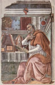 Botticelli, St Augustine (Ognissanti)