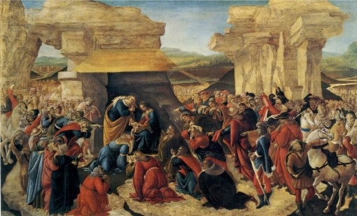 Botticellil, Adoration of the Magi