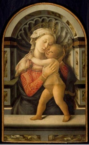 Filippo Lippi, Virgin and Child, Medici Riccardi