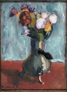 Matisse, Bouquet of Flowers in a Chocolate Pot