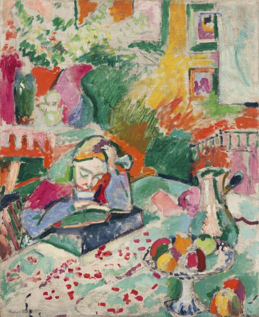 Matisse, Interior with Young Girl Reading
