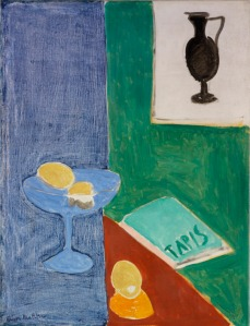 Matisse, Still Life with Lemons