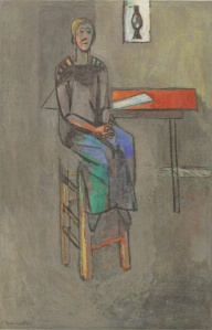 Matisse, Woman on a High Stool