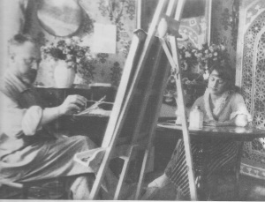 Matisse and Model