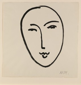 Matisse, Large Face (Mask)