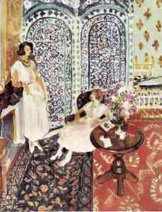 Matisse, Moorish Screen