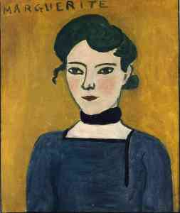 Matisse, Portrait of Marguerite