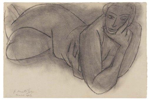Matisse, Reclining Nude